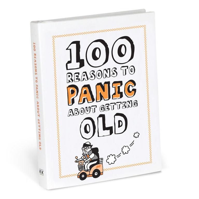 Knock Knock 100 Reasons to Panic Book