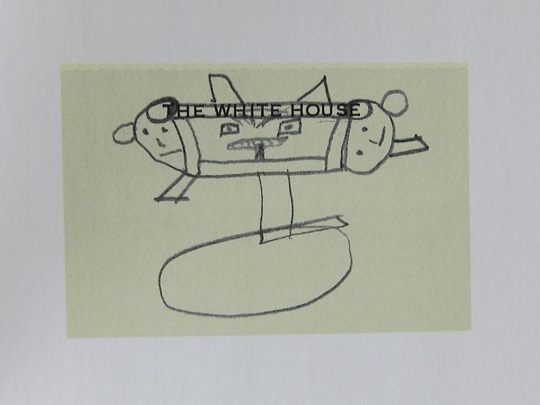 Lyndon Johnson Doodle