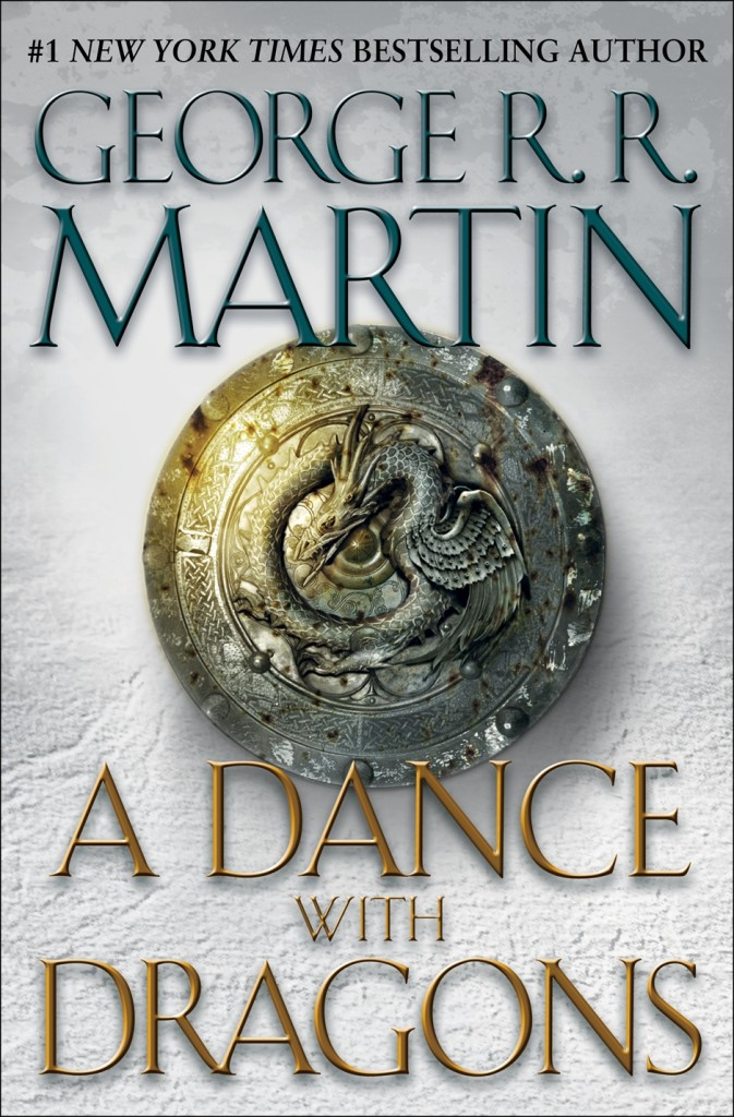 """Our customer service rep, Yamil, just finished """"A Dance with Dragons"""" by George R. R. Martin."""