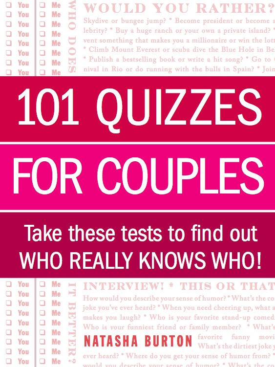 101 Quizzes for Couples Book