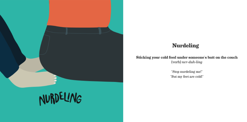 Nurdeling - The Made-Up Words Project
