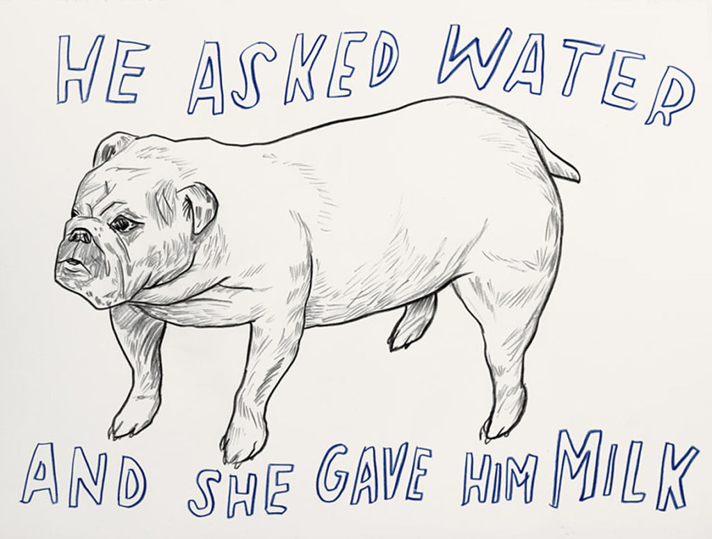 "Dave Eggers - "" He Asked for Water and She Gave Him Milk"""