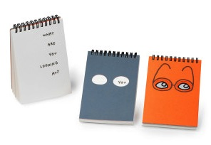 Jason Polan's Observation Notebook. It's watching you.