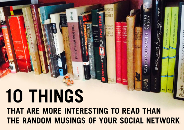 Marc Hartzman's 10 Things That are More Interesting to Read List