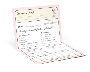 The Multiple-Choice Correspondence Notecard by Knock Knock