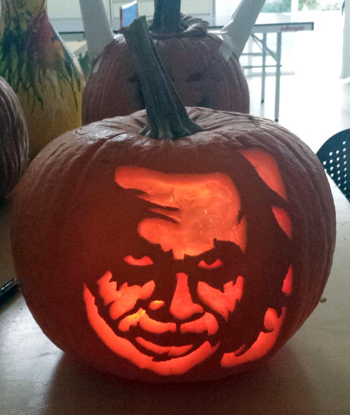 The Joker Pumpkin Carving