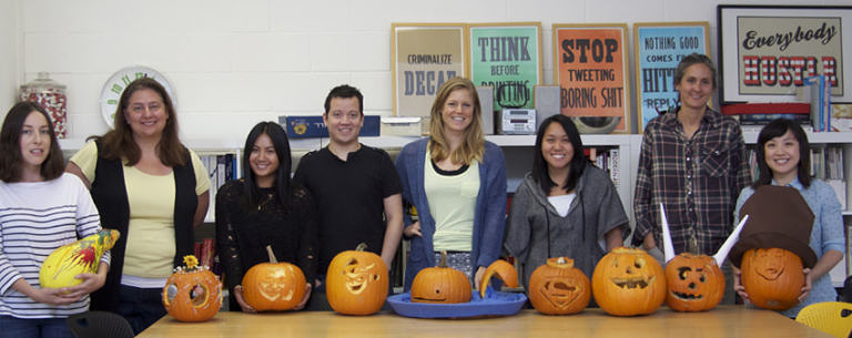 Knock Knock Company Pumpkin Carving Contest