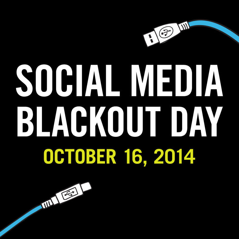 Social Media Blackout Day #SocialMediaBlackoutDay