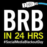 Social Media Blackout Day Profile Pic #SocialMediaBlackoutDay