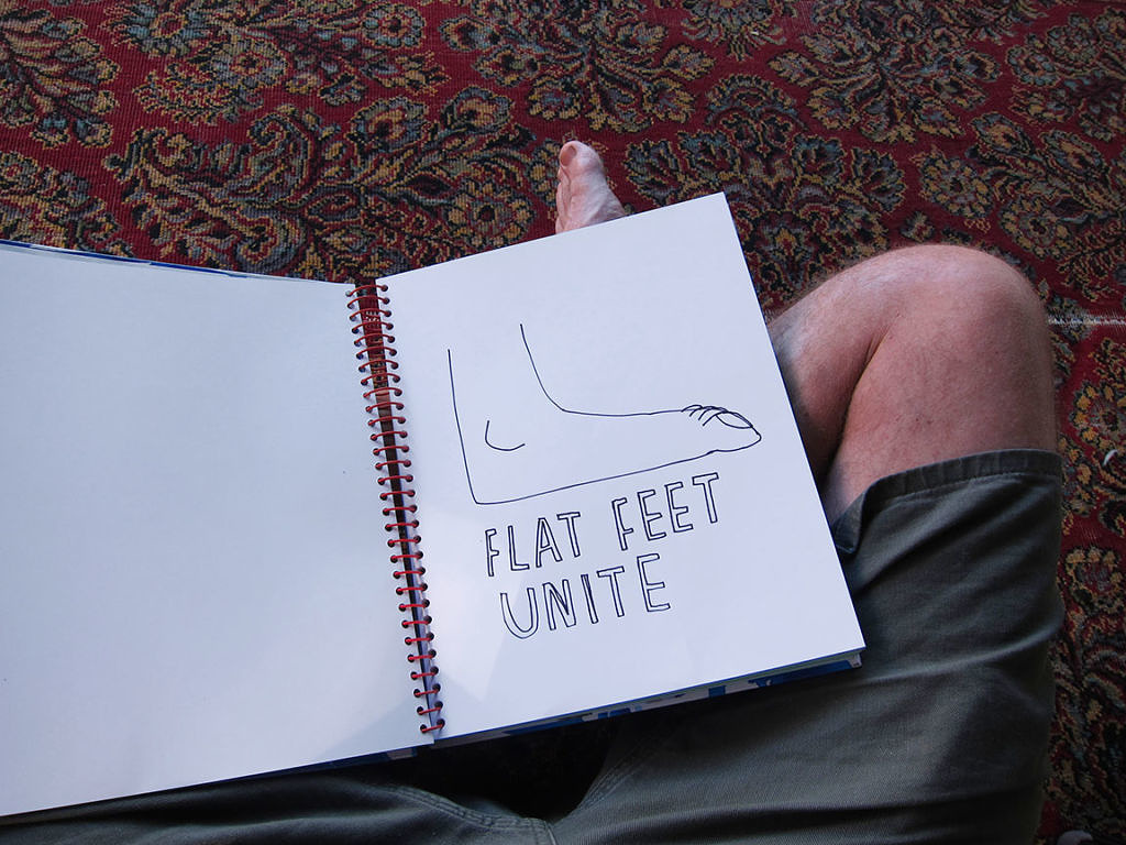 Spiral Journal - Flat Feet