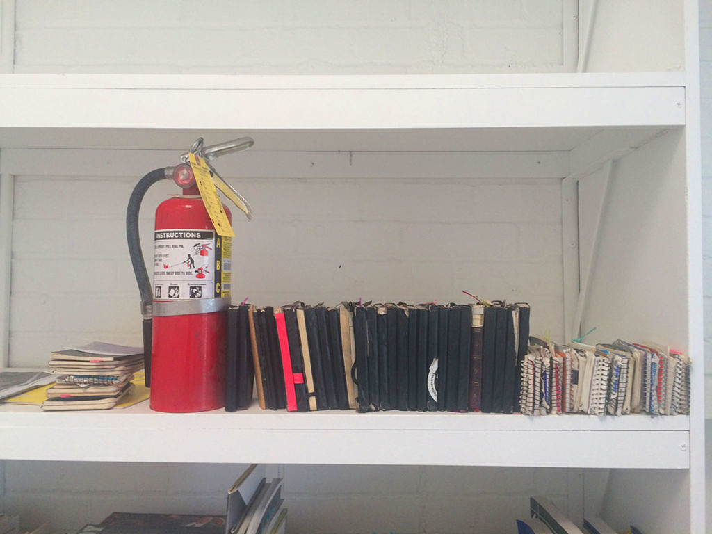 Artist Marc Horowitz - Notebooks