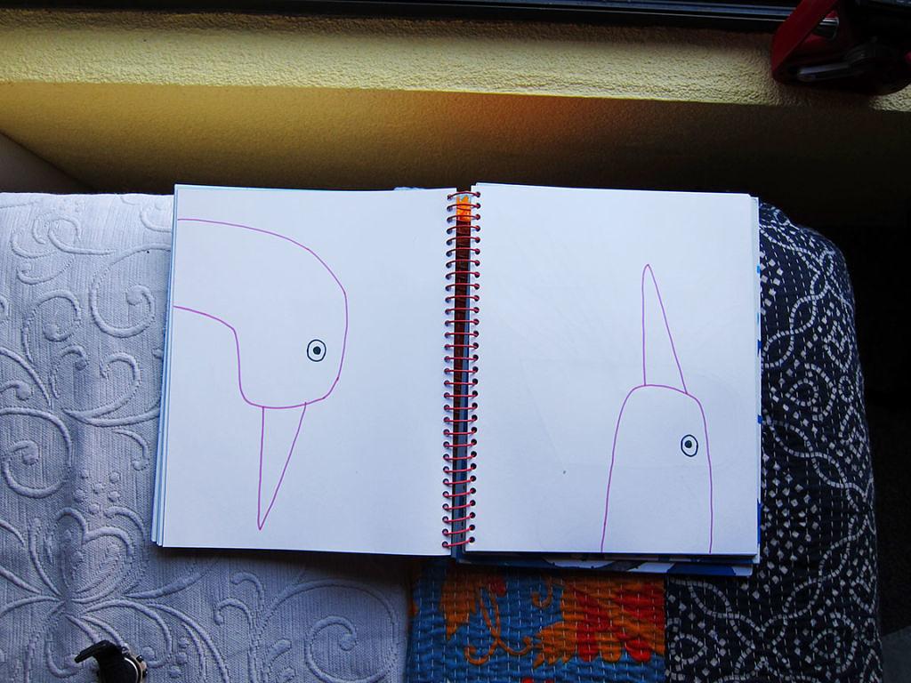 Spiral Journals - Bird Heads
