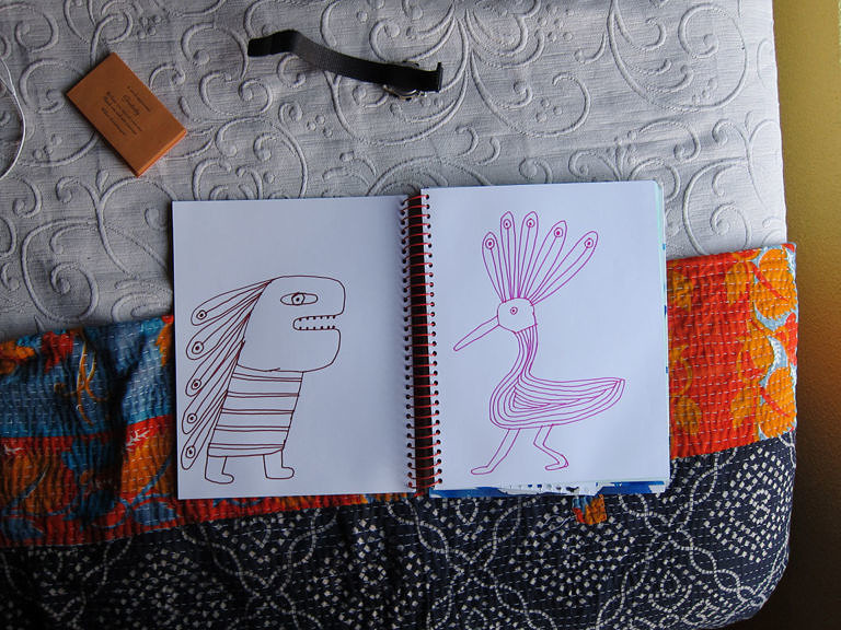 Spiral Journal Bird Monsters
