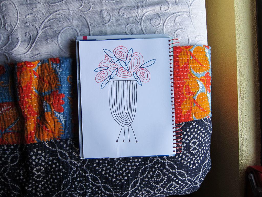 Spiral Journal - Flower Stand