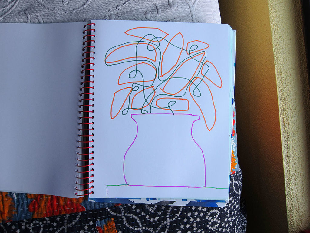 Spiral Journal - Flower Tangle