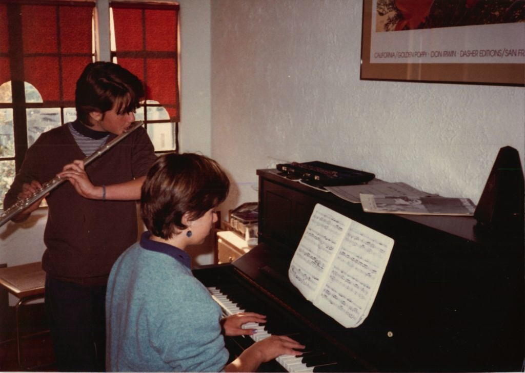 1982 JB and Leah flute and piano
