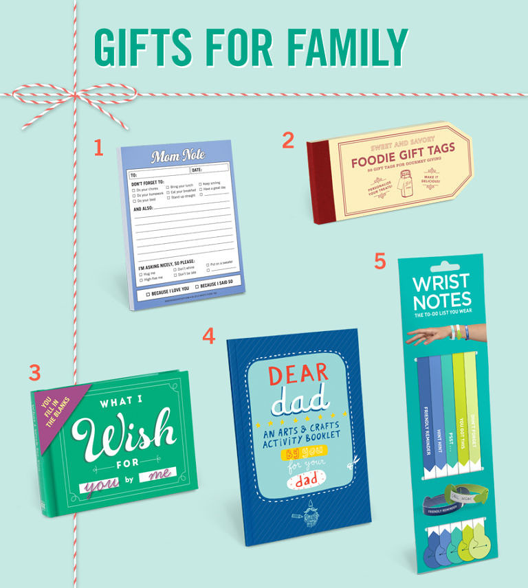 Gift Ideas for Family Members