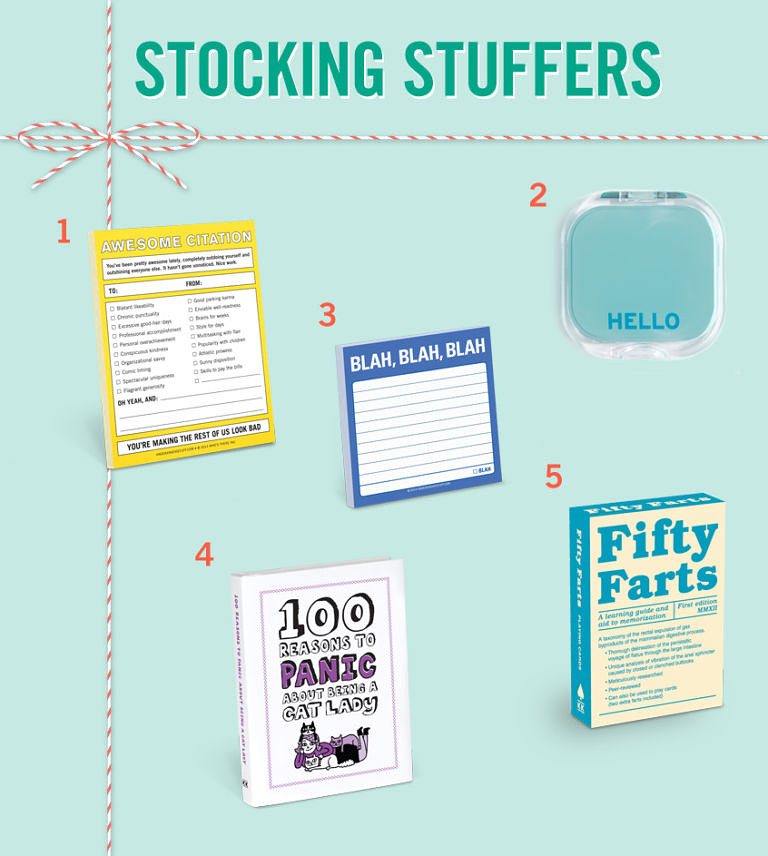 Stocking Stuffer Gift Ideas
