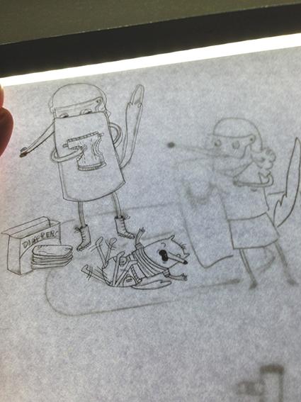 Erica Salcedo Sketch