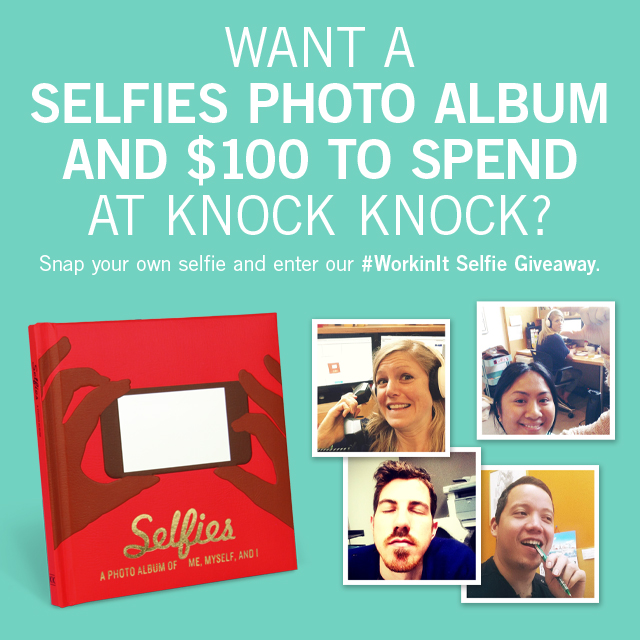 Enter the #WorkinIt Selfie Giveaway