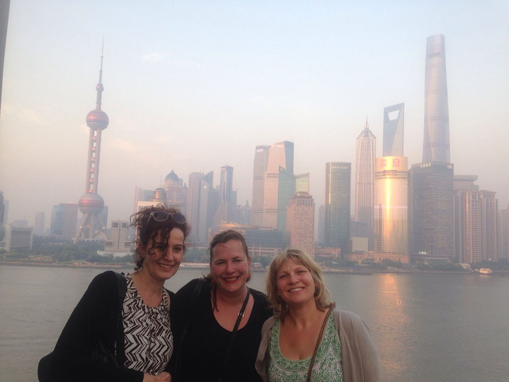 Claudette Annemarieke Charlotte in China