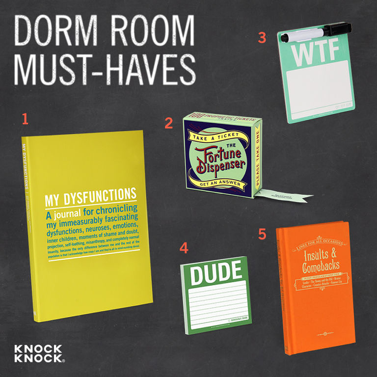 Back to School 2015 Dorm Room Must-Haves