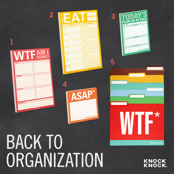 Back to School 2015 Back to Organization