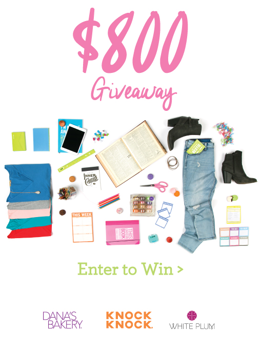 Win $800 Worth of Stuff!