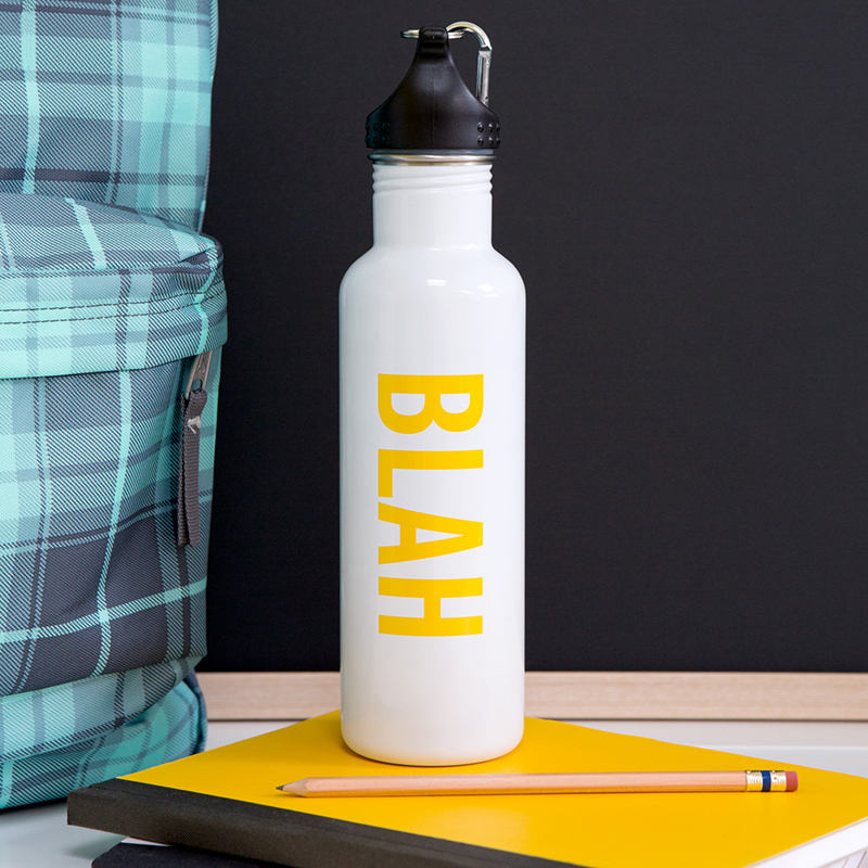 Blah Water Bottle - Knock Knock
