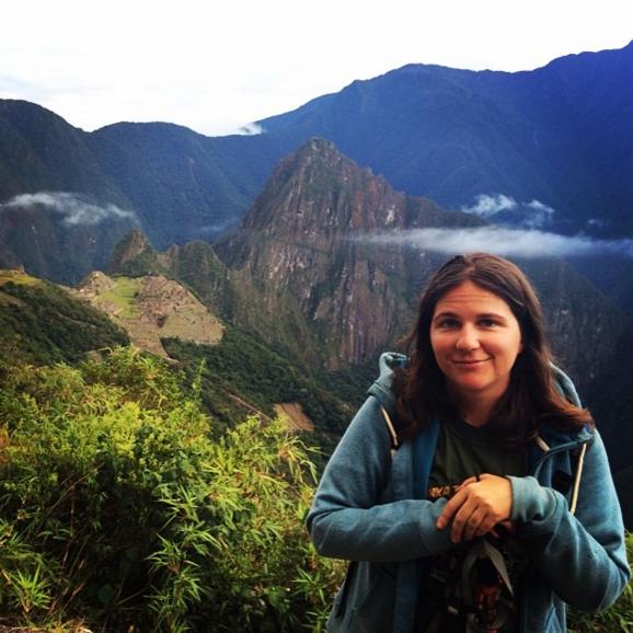 Suzi Barrett Machu Piccu