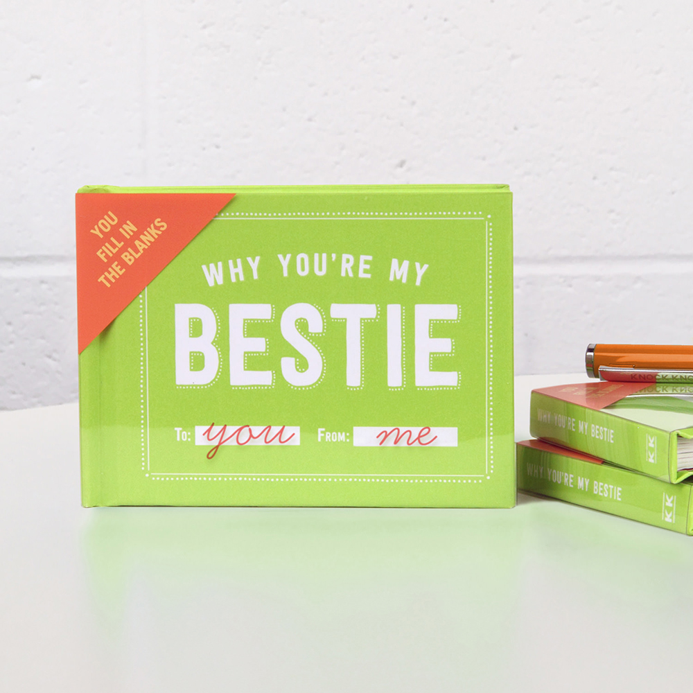 Why You're My Bestie Fill in the Love™ Journal - Knock Knock