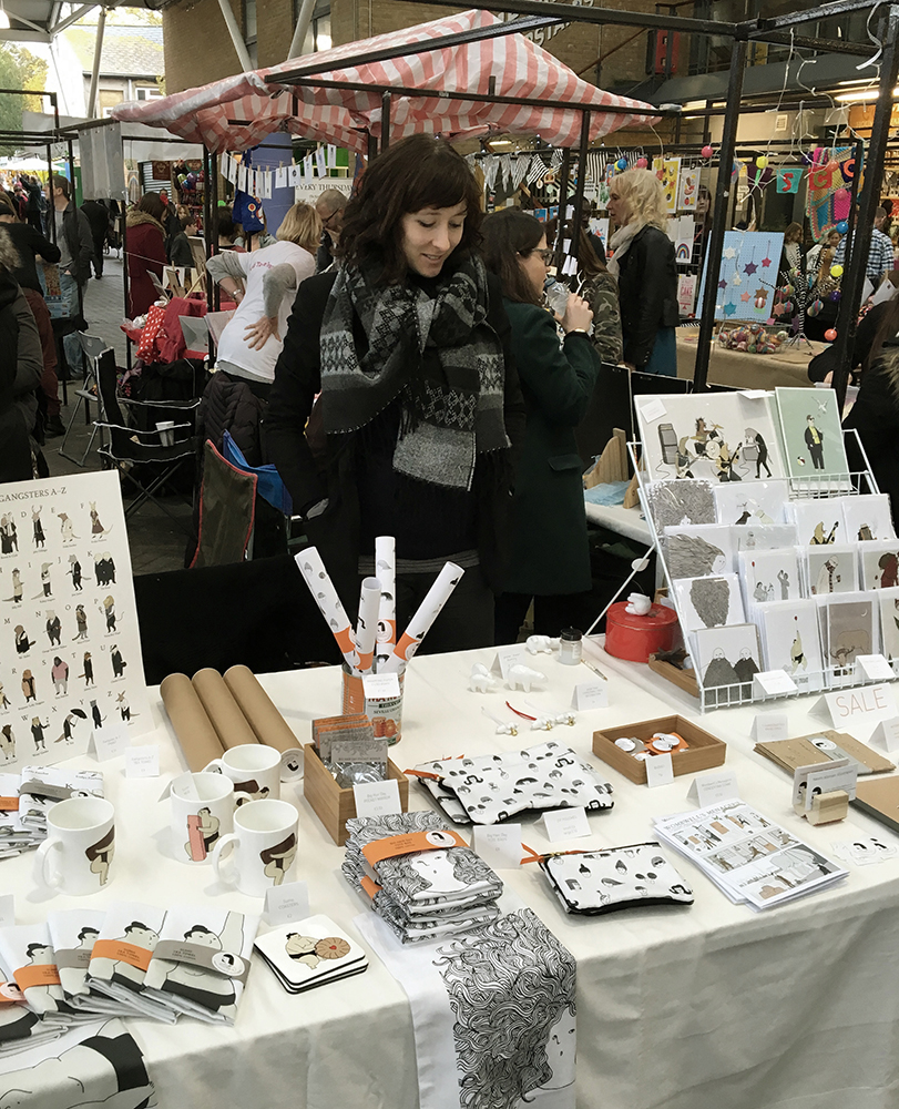 Naomi Sloman - Affirmators! Illustrator - On My Market Stall