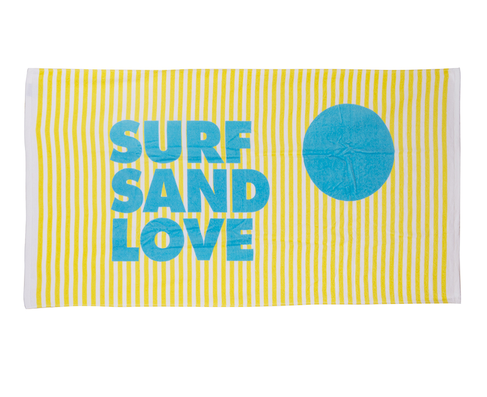 Surf Sand Love Beach Towel - Sisters of Los Angeles