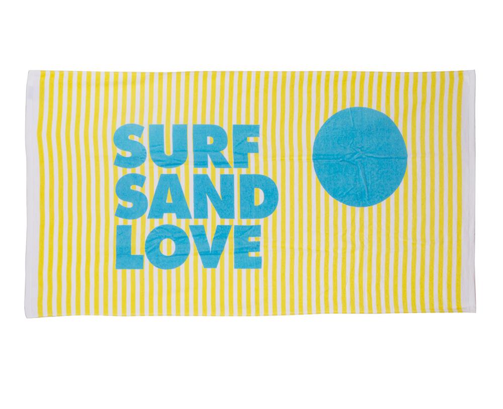 Surf Sand Love Beach Towel - Sisters of Los Angeles