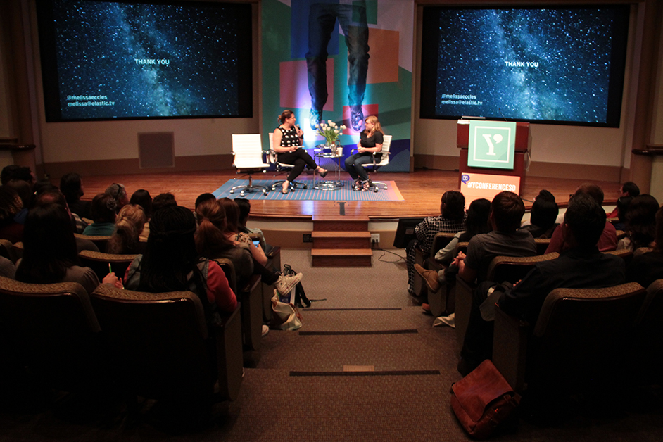 AIGA Y21 Conference Jen Bilik with Melissa Eccles
