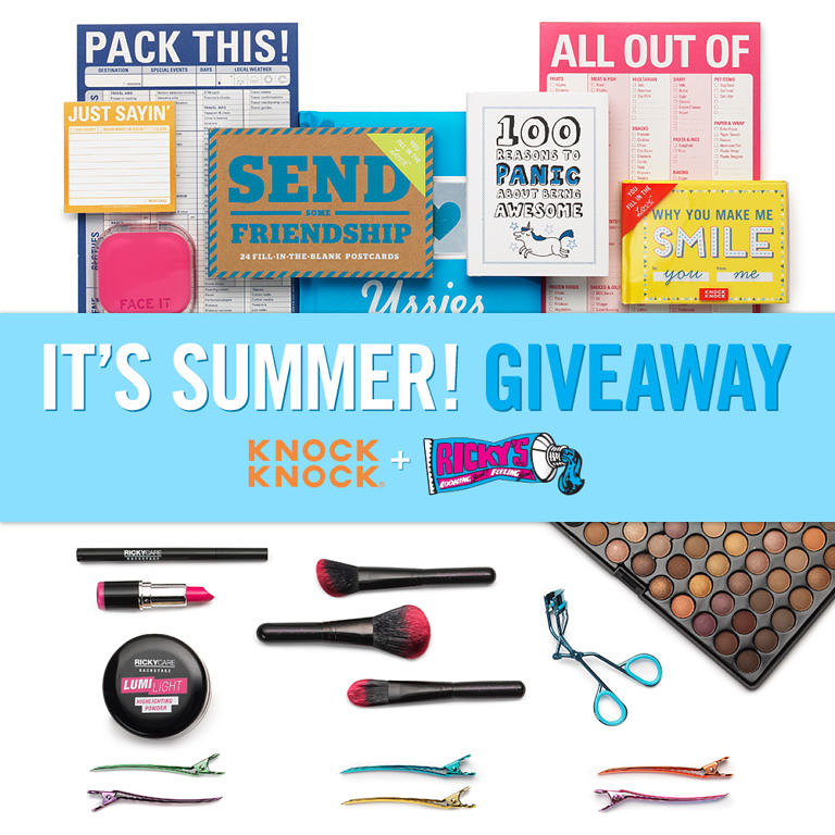 It's Summer Giveaway - Knock Knock Giveaway