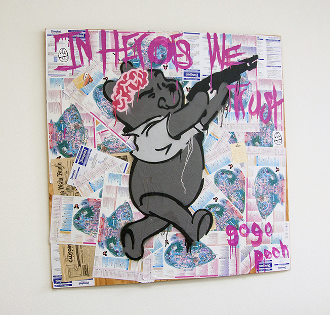 In Heroes We Trust Painting