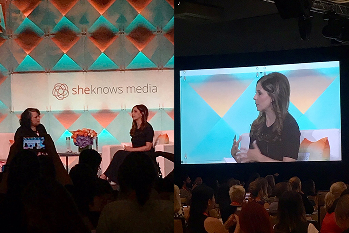 Sarah Michelle Gellar - BlogHer16 - Knock Knock Blog