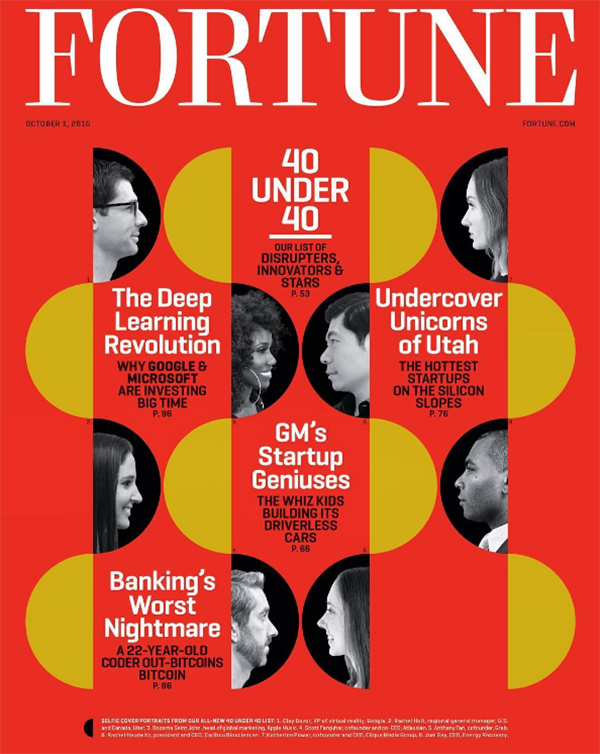 Fortune's 40 Under 40 Cover