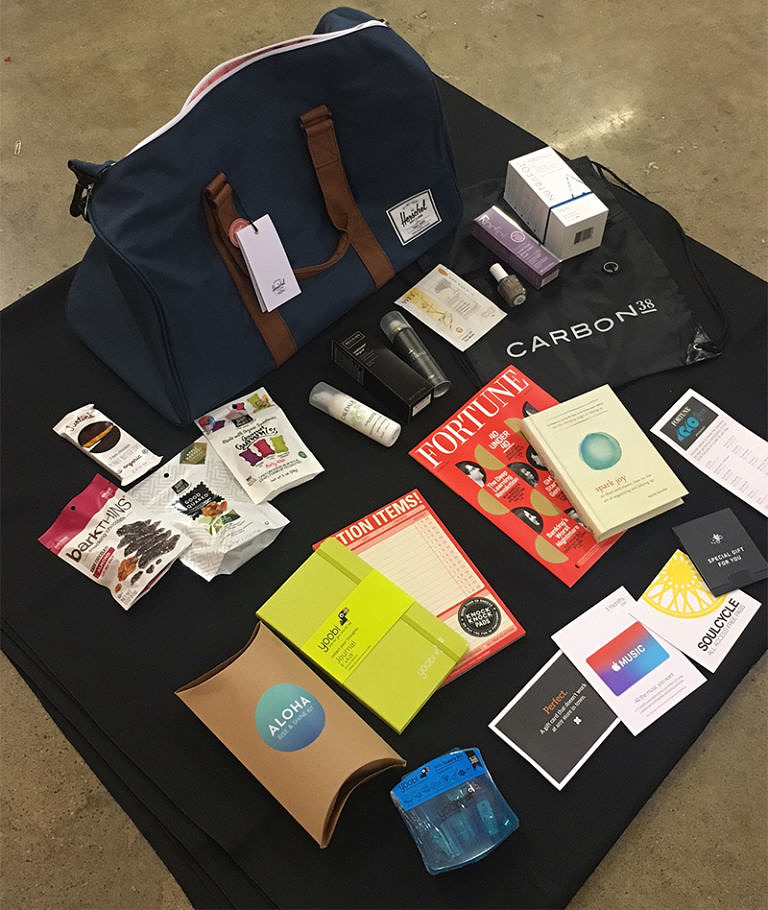 Fortune's 40 Under 40 Gift Bag