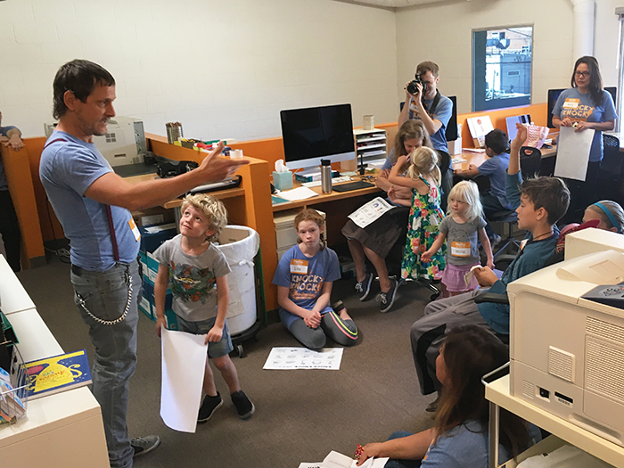 Bring Your Kids to Work Day - Knock Knock Blog