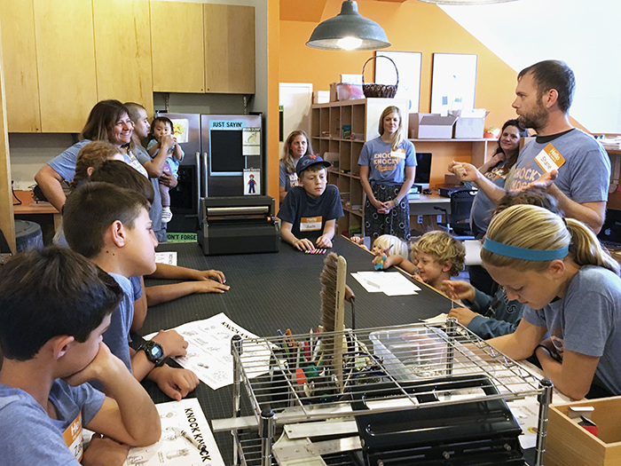 Production Bring Your Kids to Work Day - Knock Knock Blog