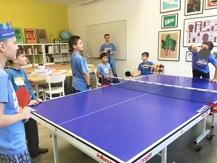 Kids Ping Pong - Knock Knock Blog