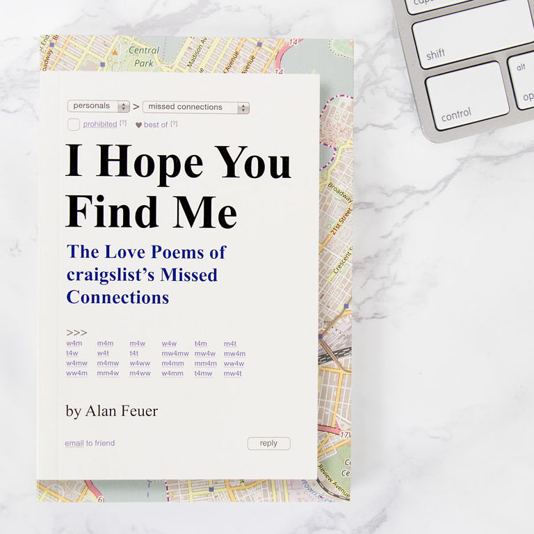 I Hope You Find Me Love Poetry Book