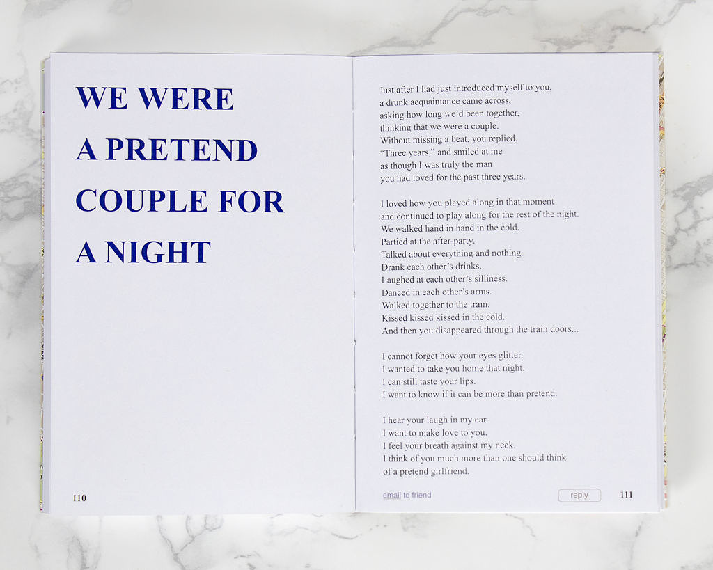 I Hope You Find Me love poetry book - We Were A Pretend Couple