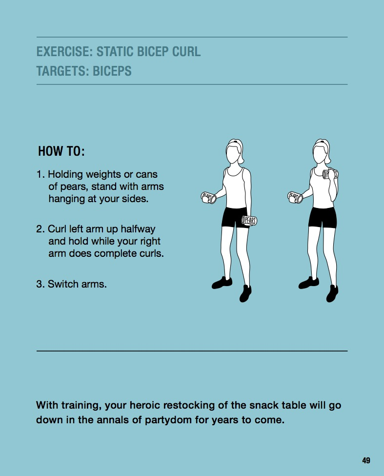 Exercise #4: Static bicep curl to target biceps
