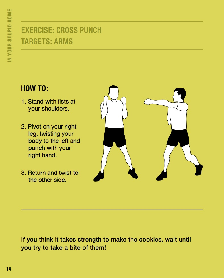 Exercise #1: Cross Punch to target arms