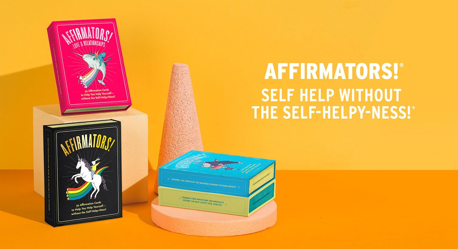 Afffirmators Self Help without the Self-Helpy-Ness