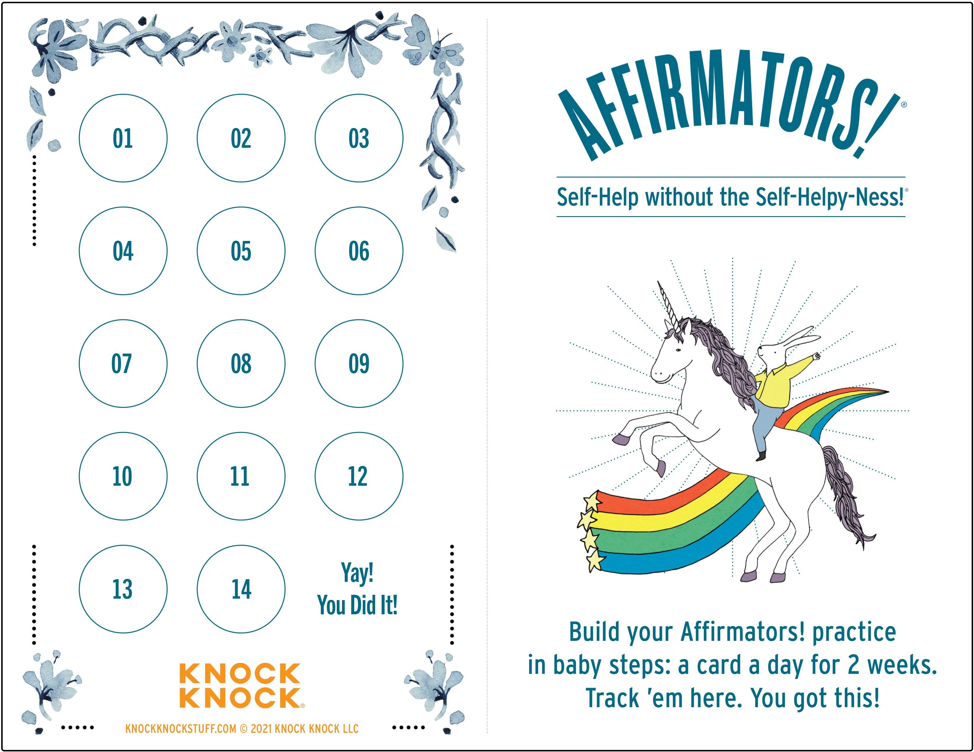 Affirmators tracking grid thumbnail